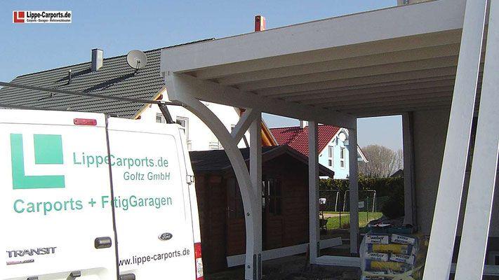 Balkon Carports Mit Terrasse Carports Holz Stahl Alu In 2020 Carports Balkon Bausatz Carport Holz