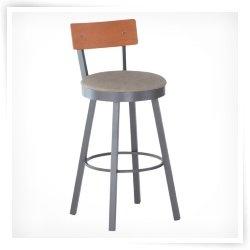 $379 Amisco 34-Inch Lauren Swivel Extra Tall Bar Stool