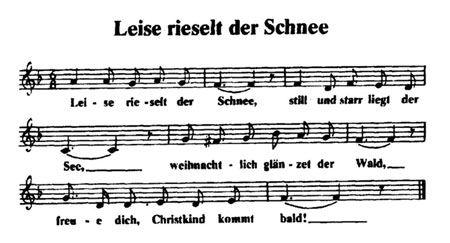 Leise rieselt der Schnee - Christkindls Weihnachtslieder mit Noten und Texten