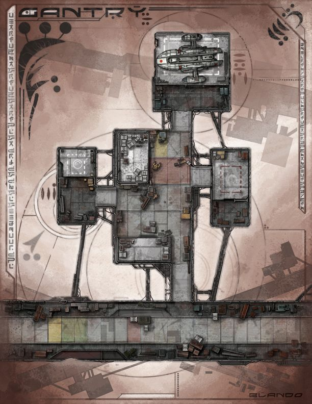 Cantry | Sci-Fi Map