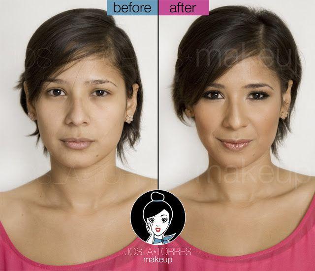 Josla Makeup: Antes y Después... Deines