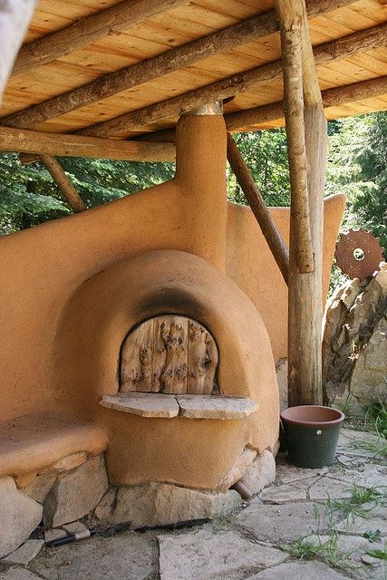 Cob oven pizza oven pinterest for How to make a cob oven