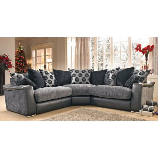 This is a gorgeous corner group with the perfect combination of trend, style and comfort. It is made with extremely comfortable and stylish jumbo cord. The seat cushions are fibre filled which results in great comfort and a truly relaxing experience. This corner sofa comes curved chenille arms