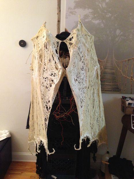 Authentic Grim Reaper Costume   Angel of Death Grim Reaper Costume