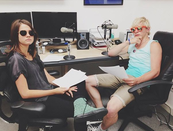 Photos: Ross Lynch And Maia Mitchell Together June 1, 2013
