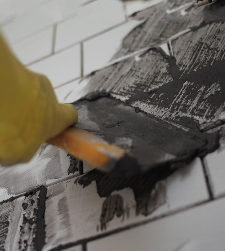 DIY Project:  How To Grout Tile   Apartment Therapy Tutorials