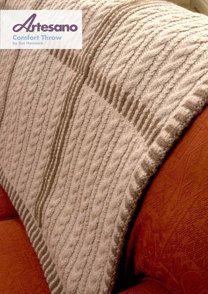 Comfort Throw in Artesano Aran