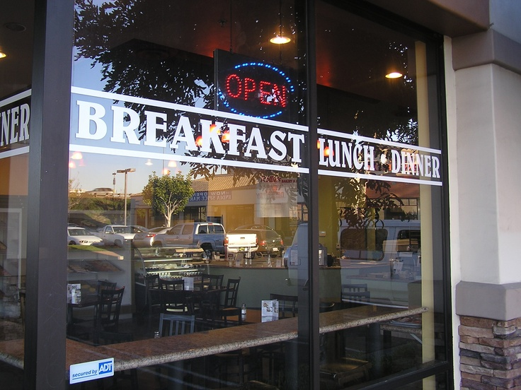 Restaurant window lettering are you a restaurant owner with limited advertising space on your store