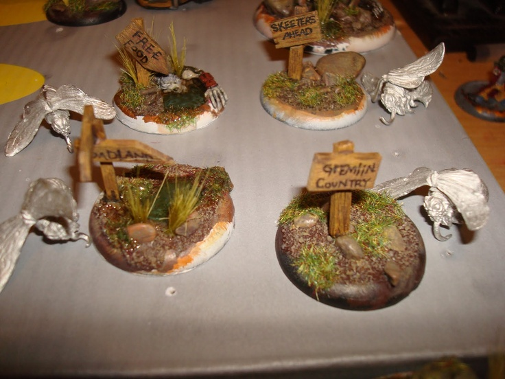 Death By Confusion: Malifaux- Gremlin Crew w/bases