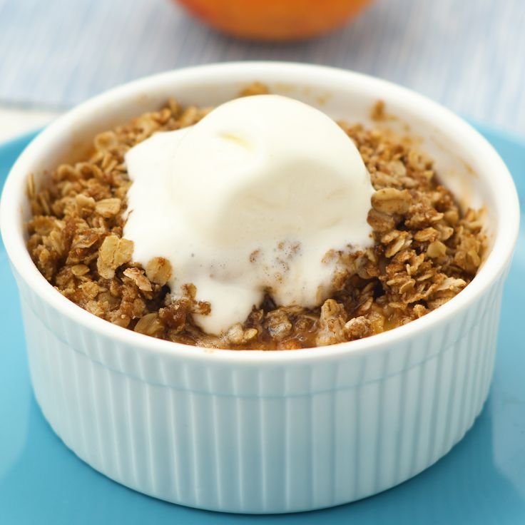 These Healthy Peach Crisps are crazy delicious anytime of year. In fact, we're gonna go make some right now. ...