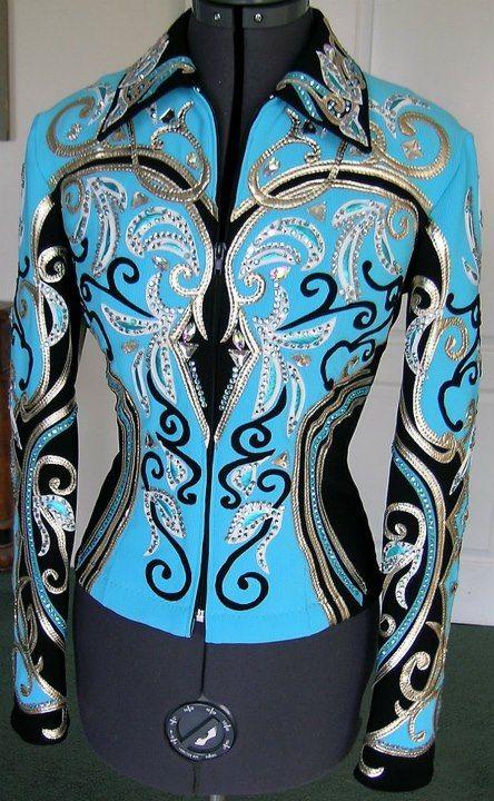 Pretty aqua rail shirt