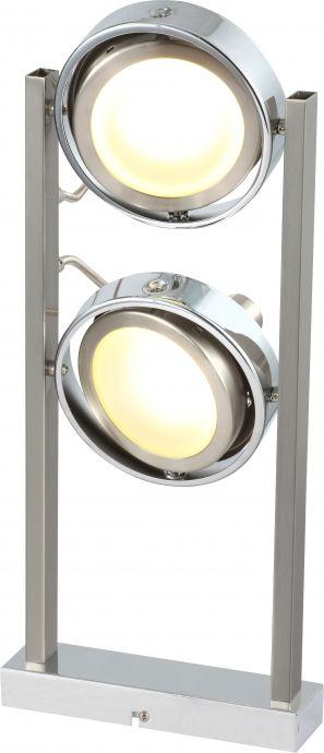 lampa de birou cu doua becuri orientabile BARONI 56946-2D marca Globo
