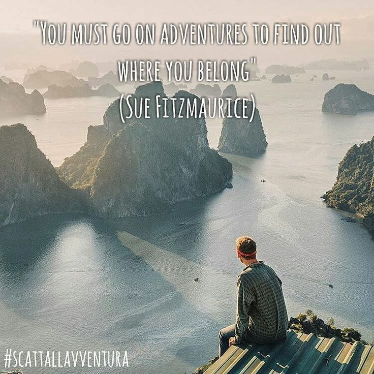 """""""You must go on adventure to find out where you belong"""" (Sue Fitzmaurice)  Hashtag #scattallavventura  #adventure #adventures #avventura #avventure #naturelovers #natureshots #nature #natura #outdoors #outdoor #quotes #quote #sea #sky #skyline #photoofday #photo #photograph #streetphotography #landscape #paesaggio #citazionifamose #citazioni  Photo by @doyoutravel  With @matteoratini @redblond_marydimauro"""