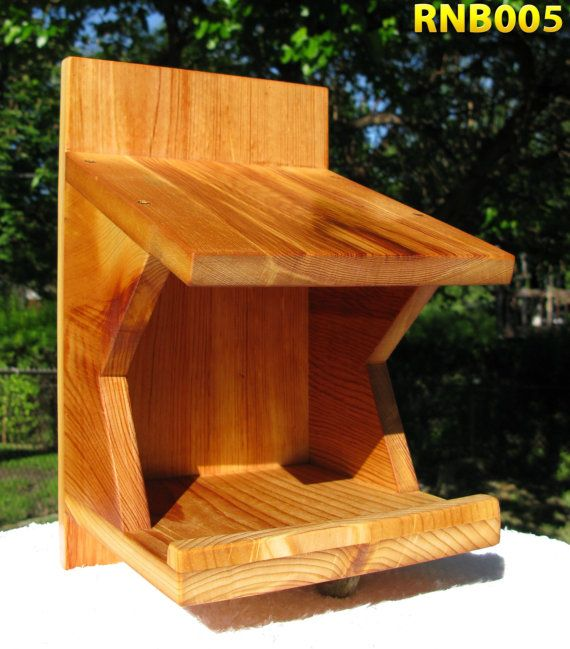 Robin mourning dove swallow nest box reclaimed cedar for Dove bird house