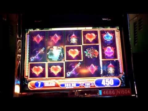 Fairy's Fortune slot machine bonus win at Sands Casino