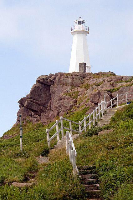 Lighthouse, Cape Spear, Newfoundland, Canada
