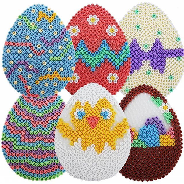 Easter eggs hama beads by
