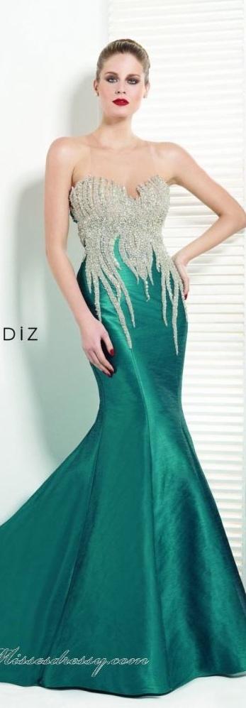 183 best Tarik Ediz Collection images on Pinterest | Evening gowns ...