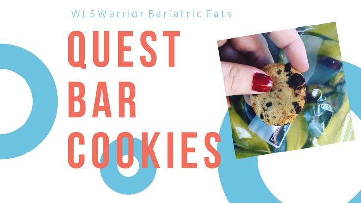Bariatric Eats: Quest Bar Cookies