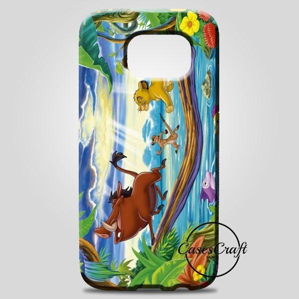 Timon Pumbaa And Simba Samsung Galaxy Note 8 Case   casescraft
