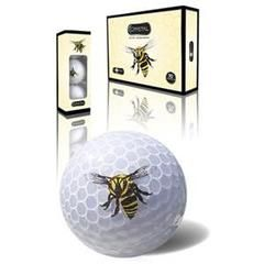 Mrs Golf - Ladies Golf Apparel, Shoes, Accessories - Crystal Golf Balls Dozen - Bee