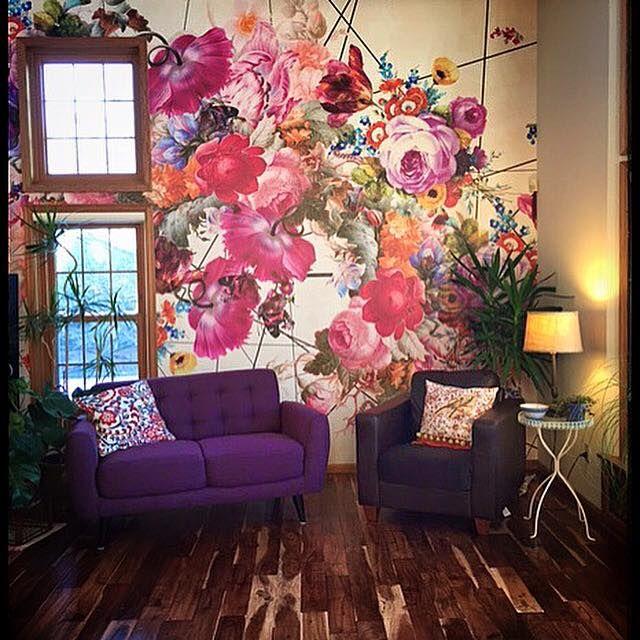 Best 25+ Flower mural ideas on Pinterest | Murals ...