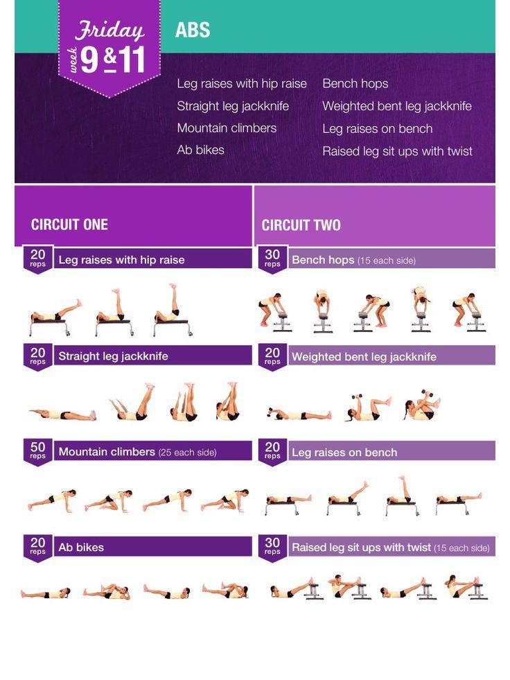 12 week bikini body guide