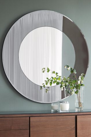 Milan Mirror From The Next Uk Online Lounge Teal Sage Grey Neutral Pinterest And