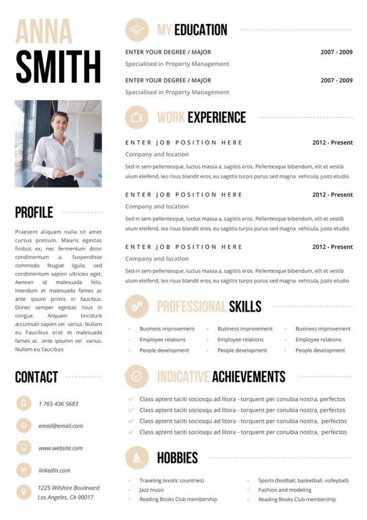 the 25  best sample resume templates ideas on pinterest