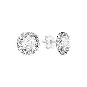 Round Diamond Earring Jackets at Shane Co.