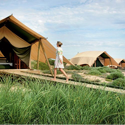 Sal Salis Ningaloo Reef, Australia - 10 Best Coastal Eco-Resorts - Coastal Living