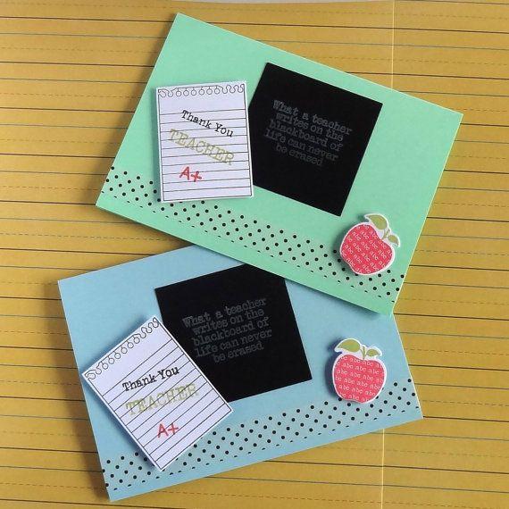 22 best Cards thank you teacher images on Pinterest | Teacher ...