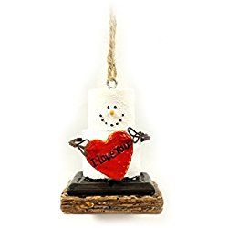 S'Mores I Love You Valentine's Day Ornament