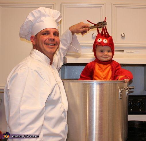Crawfish Baby Costume Homemade Mermaids And Cosplay