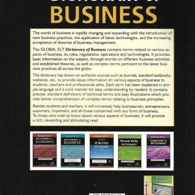 'Dictionary of Business' - presents vocabulary drawn from authentic sources and...