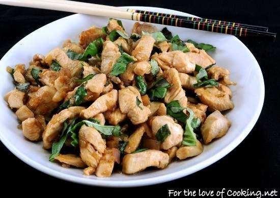 Spicy Basil Chicken   yummyness   Pinterest