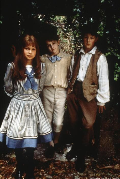 Adrianna (Mary Lennox), Dylan (Colin Craven) & Jimmy (Dickon) - The Secret Garden kids :)