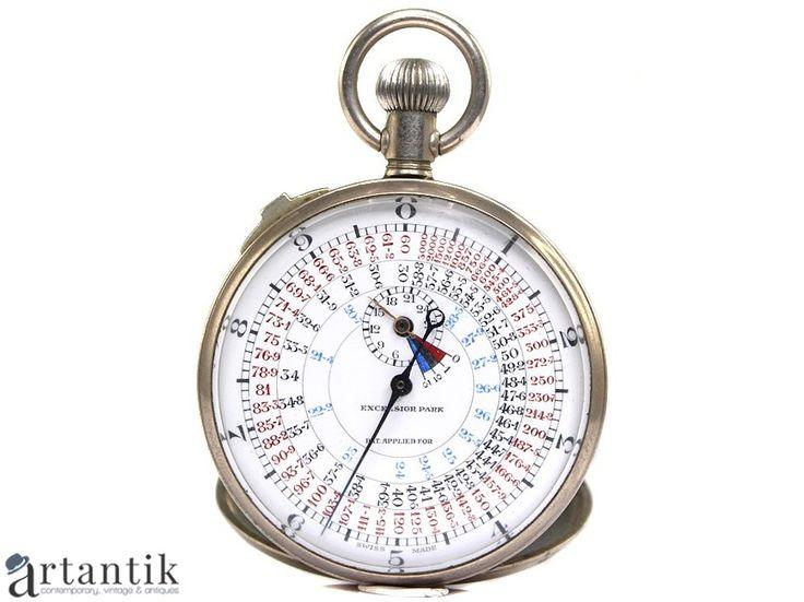 Cronometru militar - tahimetru pentru artilerie - Excelsior Park - Swiss Made