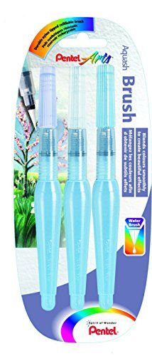 Pentel Aquash Water Brush Pens, Assorted Tips - Pack of 3 (Fine, Medium and Broad) Pentel http://www.amazon.co.uk/dp/B002JIN2Q0/ref=cm_sw_r_pi_dp_rhX7wb1ZQRF1R