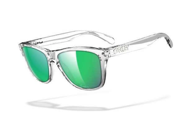 The Oakley Custom Program Lets You Design Your Glasses #sunglasses trendhunter.com