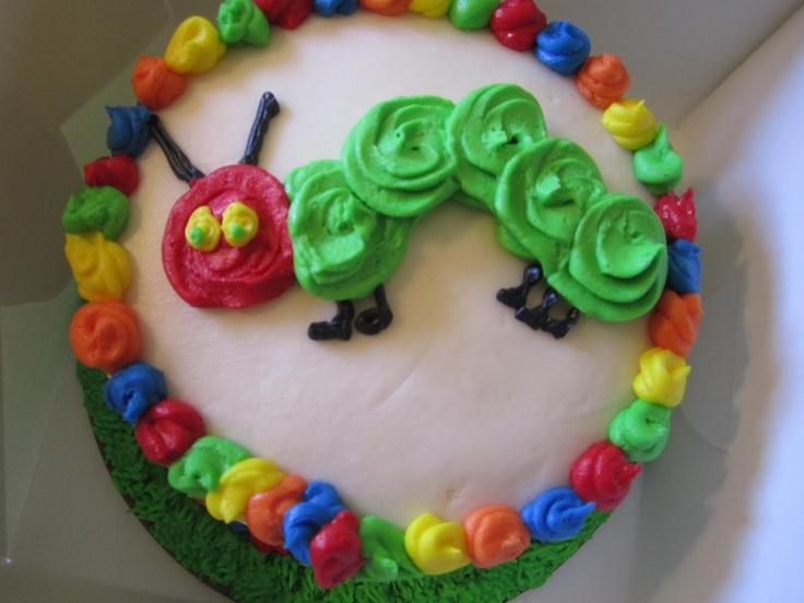 Hungry Caterpillar Smash Cake Ideas
