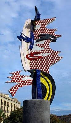 Cap de Barcelona - Roy Lichtenstein
