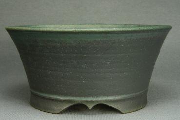 """Ø 20,8 cm / 8.2""""  Kaskadenschale Bonsaischale Bonsai Pot Roman Husmann 6576"""