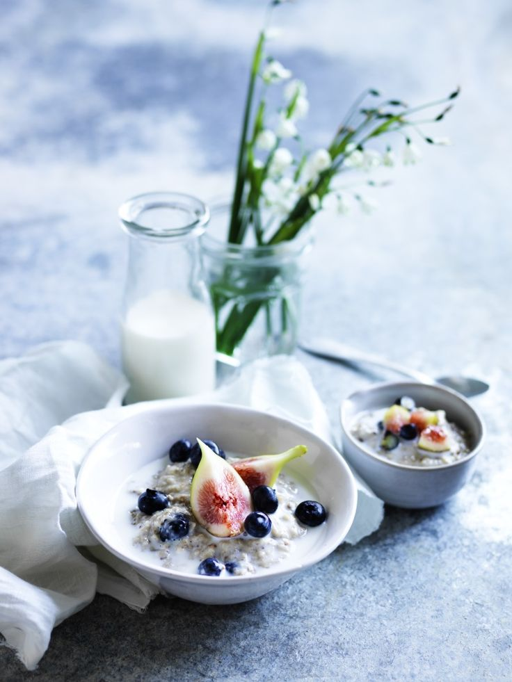 Three-grain blueberry and fig porridge | Thermomix Cookbook | Something for Everyone