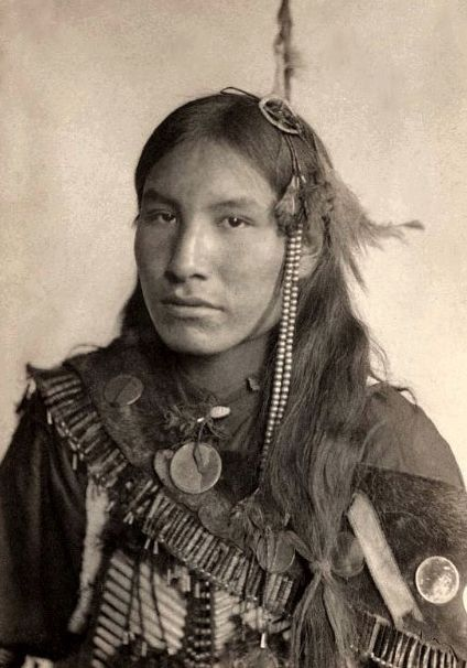 """Kills First"" Lakota 1898. Photography by Gertrude Kasebier American Indians"