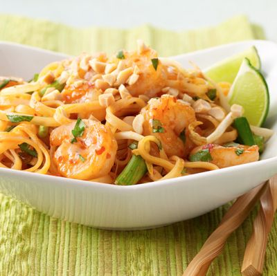 Weeknight Shrimp Pad Thai from Land O'Lakes