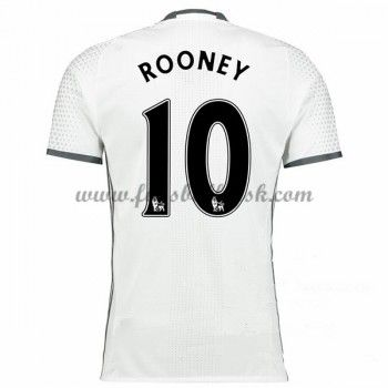 Premier League Fussball Trikots Manchester United 2016-17 Rooney 10 3rd Trikot Kurzarm