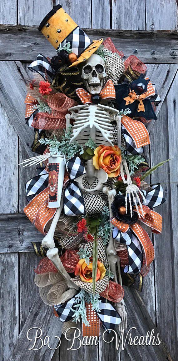 Best 25+ Halloween wreaths ideas on Pinterest | Halloween ...