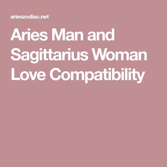Aries Man and Sagittarius Woman Love Compatibility