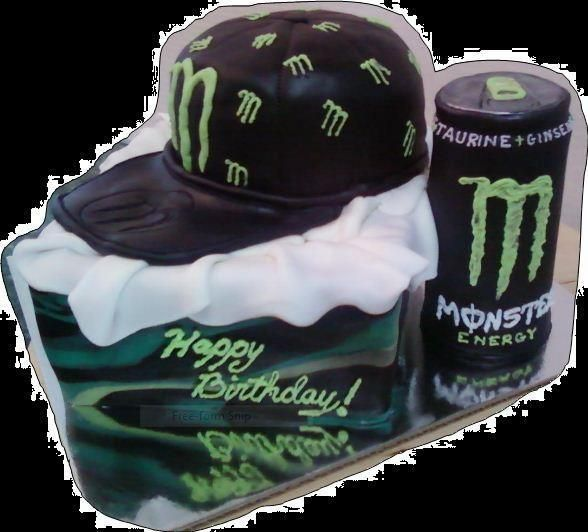 - Monster Energy Cake